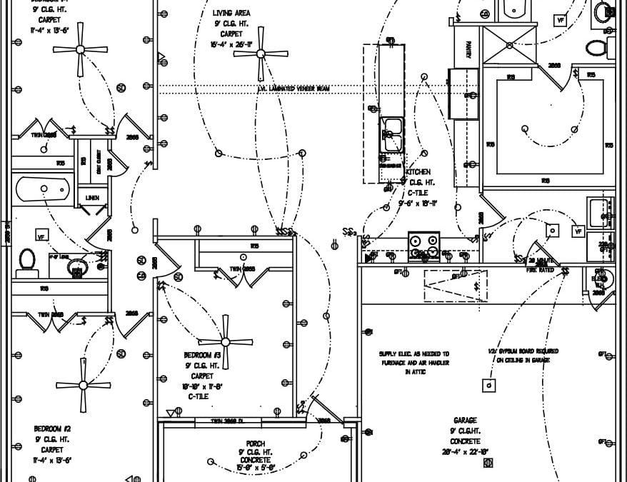 Jeremiah 4 Bedroom Floorplan